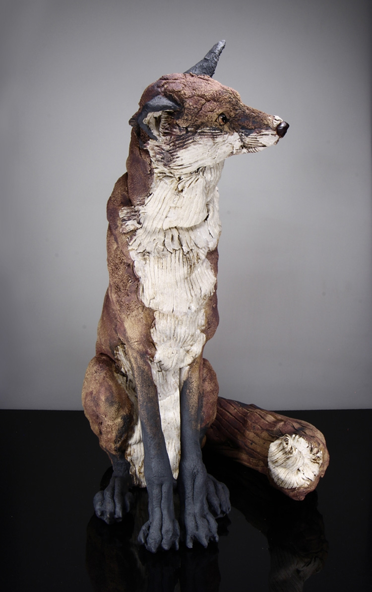 Ceramic Animal Sculptures From Artist Elaine Peto